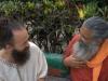 Guruji and Swami at Parmarth Niketan