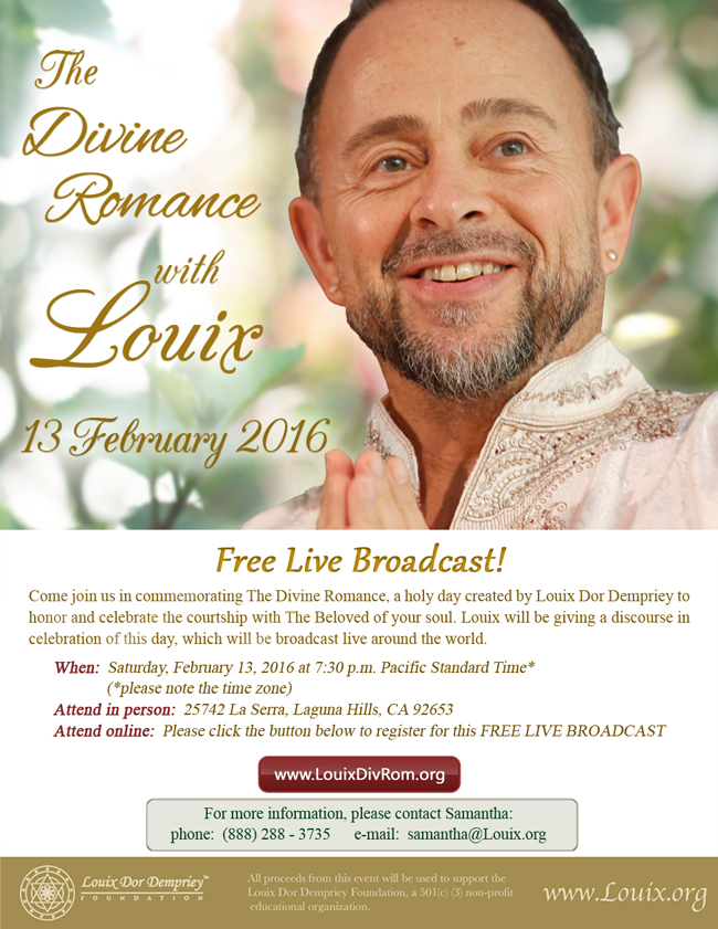 The Divine Romance with Louix