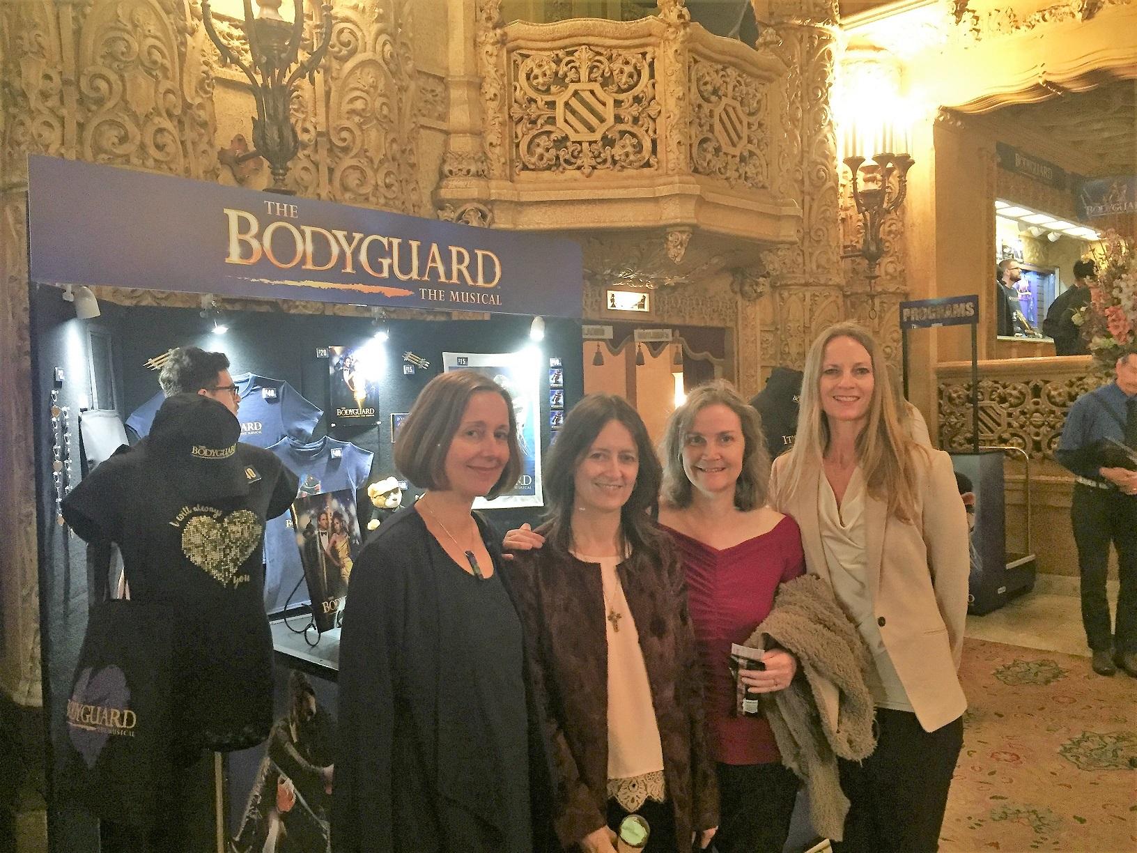 Bodyguard with Lynda